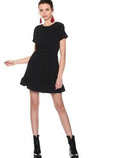 Compania Fantastica Puantiyeli Mini Kloş Elbise Renkli